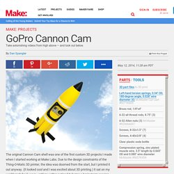 3D Printed GoPro Cannon Cam