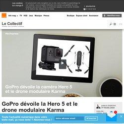 GoPro dévoile la Hero 5 et le drone modulaire Karma