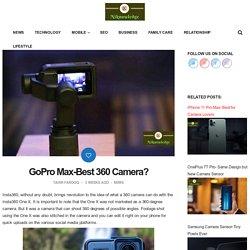 GoPro Max-Best 360 Camera