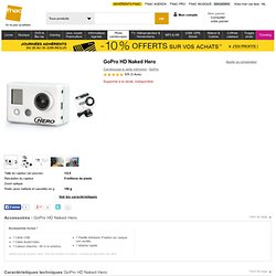 GoPro HD Naked Hero - Caméscope - Fnac.com