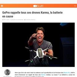 GoPro rappelle tous ses drones Karma, la batterie en cause