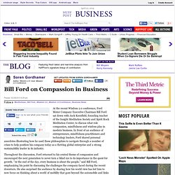 Bill Ford on Compassion in Business