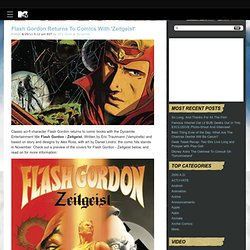 Flash Gordon Returns To Comics With 'Zeitgeist' » MTV Geek