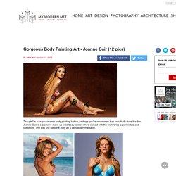 Gorgeous Body Painting Art - Joanne Gair (12 pics)