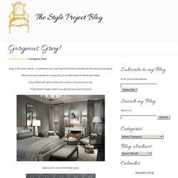 Gorgeous Grey! « Copy