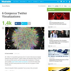 6 Gorgeous Twitter Visualizations