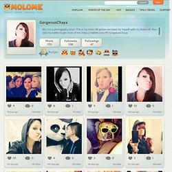 GorgeousChaya's profile : MOLOME™