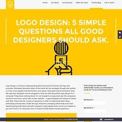 Gorilla - Logo design: 5 questions all good logo designs should ask.
