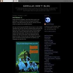 GORILLAS DON'T BLOG: October 2009