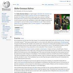 Siebe Gorman Salvus