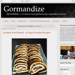 Gormandize: Croatian