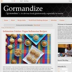 Gormandize: Indonesian