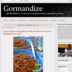Gormandize: Italian