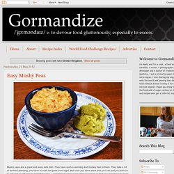 Gormandize: United Kingdom