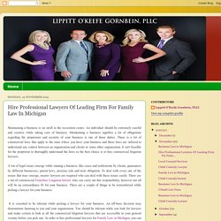 Lippitt O'Keefe Gornbein, PLLC: Hire Professional Lawyers Of Leading Firm For Family Law In Michigan