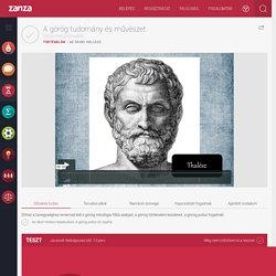 A görög tudomány és művészet