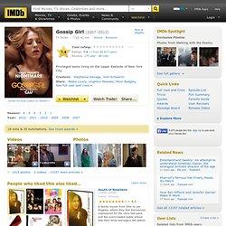 Gossip Girl (TV Series 2007–