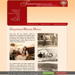 Gostilna Lectar - Gingerbread Museum