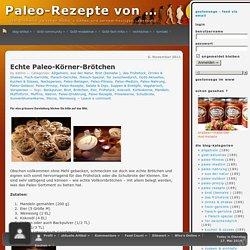 GoStoneage - Echte Paleo-Körner-Brötchen