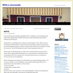 RO4:s resurssida