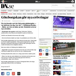 Göteborgskan gör nya erövringar