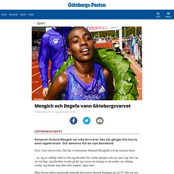 Mengich och Degefa vann Göteborgsvarvet
