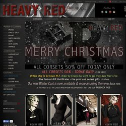 Heavy Red (gothic store)