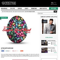 GOTSTYLE | Mens Clothing Store, Toronto | Custom Suits, Tuxedos