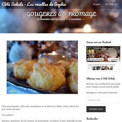 GOUGERES AU FROMAGE
