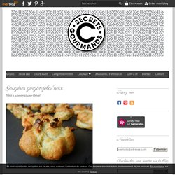 Gougères gorgonzola/noix - C secrets gourmands