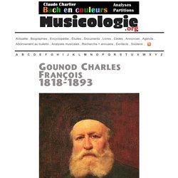 Gounod Charles (1818-1893) - musicologie.org