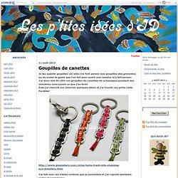 Goupilles de canettes - Les p'tites idées d'ID