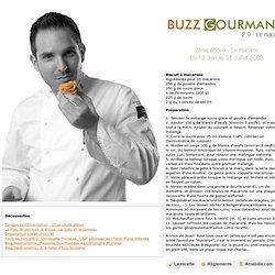 Buzz Gourmand avec Christophe Michalak et Amabilia.com
