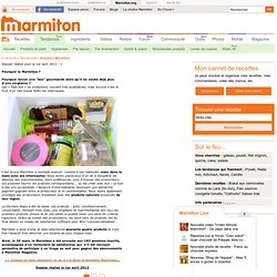 "lance sa ""box"" gourmande : la MARMIBOX - Marmibox : la food box collaborative de Marmiton"