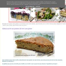 Gourmande sans gluten: Gâteau sucrée aux pommes de terre sans gluten