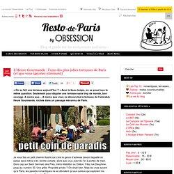 L'Heure Gourmande : l'une des plus jolies terrasses de Paris (que vous ignoriez sûrement) paris