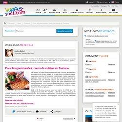 Pour les gourmandes, cours de cuisine en Toscane