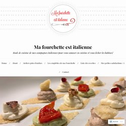 Toasts de parmesan et crèmes gourmandes – Ma fourchette est italienne
