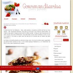 Cookies fondant au chocolat et aux Maltesers