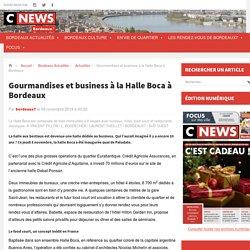 Gourmandises et business à la Halle Boca à Bordeaux