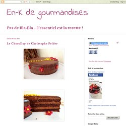 Le ChocoDay de Christophe Felder