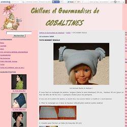 TUTO BONNET RIGOLO - Chiffons et Gourmandises de Cobaltines