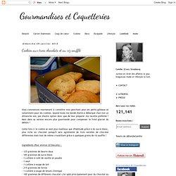 Cookies aux trois chocolats et au riz soufflé