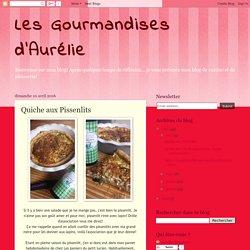 Les Gourmandises d'Aurélie: Quiche aux Pissenlits