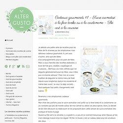 Cadeaux gourmands #1 - Sucre aromatisé à la fève tonka ou à la cardamome - Thé vert à la verveine -