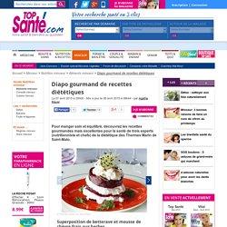 Diapo gourmands de recettes diététiques