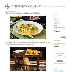 The Bojon Gourmet: Butternut Squash Risotto with Pancetta and Chèvre