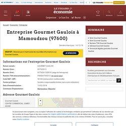 Gourmet Gaulois (Mamoudzou, 97600) : siret, TVA, adresse...
