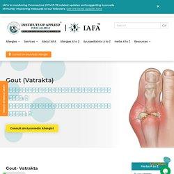 Gout l IAFA