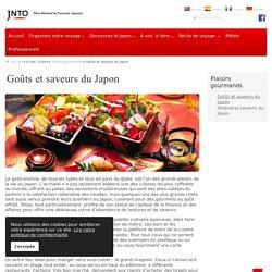 Goûts et saveurs du Japon